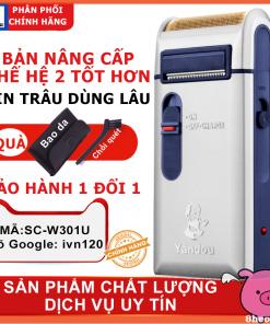 máy cạo râu YANDOU SC-w301u 2 chức năng ivn120
