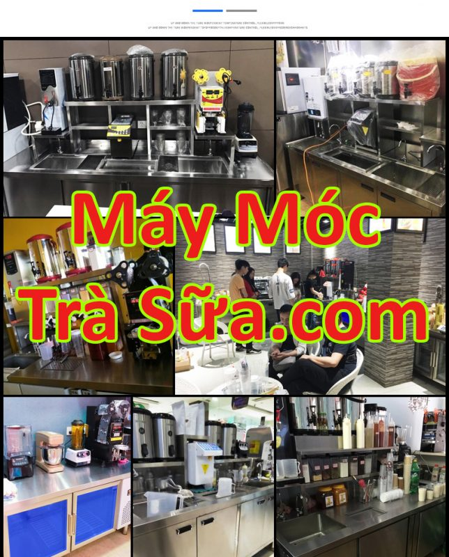 Thiết bị Trà Sữa, Trà Chanh, Nhà Hàng, Cà phê